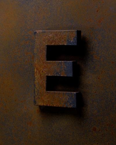 Lettre E Rust