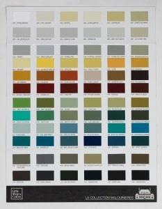 La peinture historique collection Malouinieres par Little Shop of Colors
