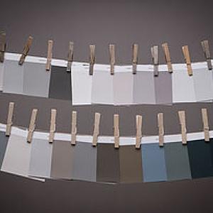 les peintures haut de gamme collection matière grise