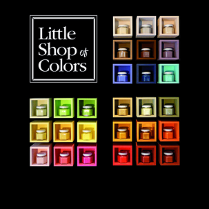 La peinture haut de gamme Little Shop of Colors
