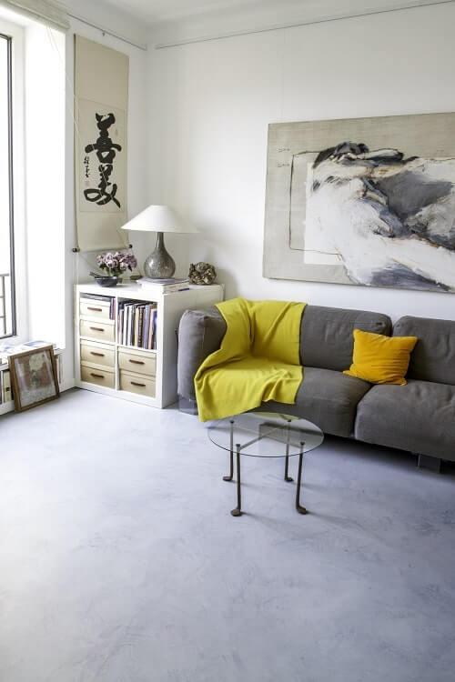 Le béton ciré pour votre intérieur par Little Shop of Colors