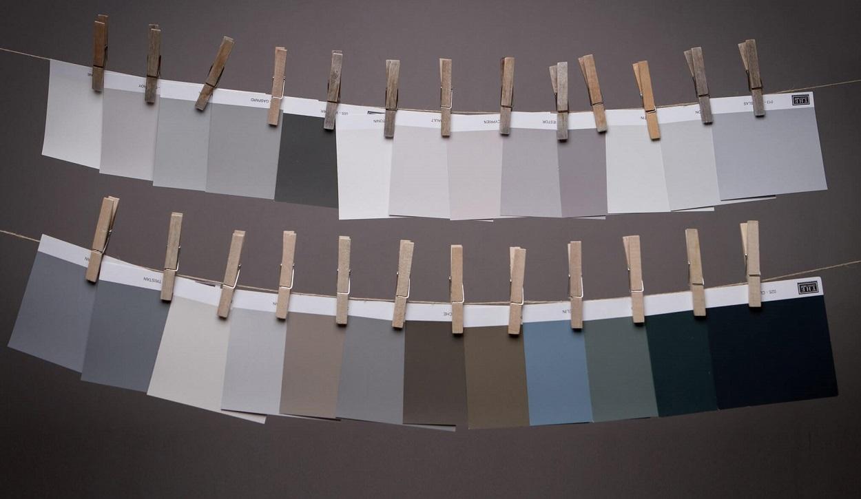 peintures de qualité couleurs grises